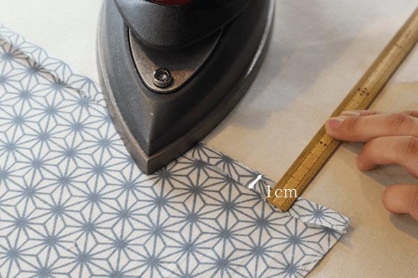 あずま袋 作り方 手ぬぐい 活用  en・nichi・nichi